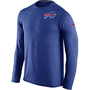 Nike Men's Buffalo Bills Sideline 2016 Dri-FIT Touch Blue Long Sleeve Shirt