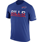 Nike Men's Buffalo Bills Practice Blue T-Shirt