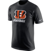 Nike Men's Cincinnati Bengals Facility Black T-Shirt
