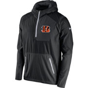 Nike Men's Cincinnati Bengals Sideline 2016 Vapor Speed Fly Rush Anthracite Jacket