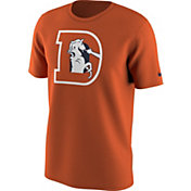 Nike Men's Denver Broncos Team Travel Orange T-Shirt
