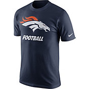 Nike Men's Denver Broncos Facility Navy T-Shirt