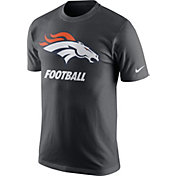 Nike Men's Denver Broncos Facility Anthracite T-Shirt