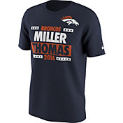 Nike Men's Denver Broncos Election Navy T-Shirt