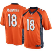 Nike Men's Home Limited Jersey Denver Broncos Peyton Manning #18