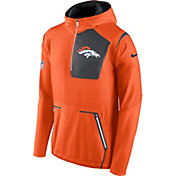 Nike Men's Denver Broncos Sideline 2016 Alpha Fly Rush Orange Jacket