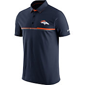 Nike Men's Denver Broncos Sideline 2016 Elite Navy Polo