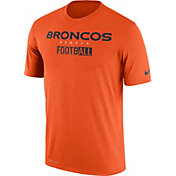 Nike Men's Denver Broncos All Football Legend Orange T-Shirt
