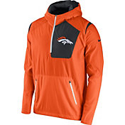 Nike Men's Denver Broncos Sideline 2016 Vapor Speed Fly Rush Orange Jacket