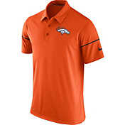 Nike Men's Denver Broncos Team Issue Orange Polo