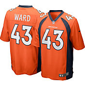 Nike Men's Home Game Jersey Denver Broncos T.J. Ward #43