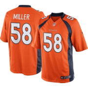 Nike Men's Home Limited Jersey Denver Broncos Von Miller #58