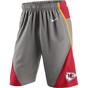 Nike Men's Kansas City Chiefs Fly XL 4.0 Grey Shorts