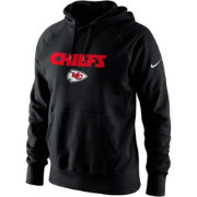 Nike Men's Kansas City Chiefs Lockup Circuit Black Hoodie