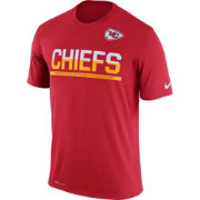 Nike Men's Kansas City Chiefs Practice Red T-Shirt