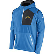 Nike Men's San Diego Chargers Sideline 2016 Vapor Speed Fly Rush Blue Jacket
