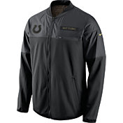 Nike Men's Indianapolis Colts Salute to Service 2016 Hybrid Black Jacket