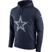Nike Men's Dallas Cowboys Performance Circuit Logo Essential Navy Hoodie