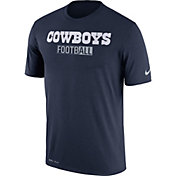 Nike Men's Dallas Cowboys All Football Legend Navy T-Shirt