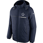 Nike Men's Dallas Cowboys Sideline 2016 Navy Puff Jacket