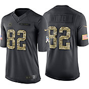 Nike Men's Home Limited Jersey Dallas Cowboys Jason Witten #82 Salute to Service 2016