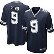 Nike Men's Away Game Jersey Dallas Cowboys Tony Romo #9