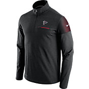 Nike Men's Atlanta Falcons Sideline 2016 Elite Coaches Quarter-Zip Black Pullover