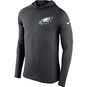 Nike Men's Philadelphia Eagles Dri-FIT Touch Grey Hoodie