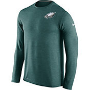 Nike Men's Philadelphia Eagles Sideline 2016 Dri-FIT Touch Teal Long Sleeve Shirt