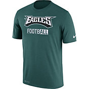 Nike Men's Philadelphia Eagles All Football Legend Green T-Shirt