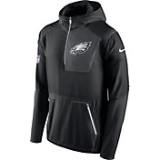 Nike Men's Philadelphia Eagles Sideline 2016 Alpha Fly Rush Black Jacket