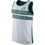 Nike Men's Philadelphia Eagles Stripe Tri-Blend Green Tank