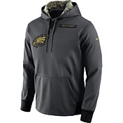 Nike Men's Philadelphia Eagles Salute to Service 2016 Anthracite Pullover Hoodie