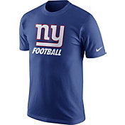 Nike Men's New York Giants Facility Blue T-Shirt