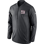 Nike Men's New York Giants Lockdown Anthracite Full-Zip Performance Jacket