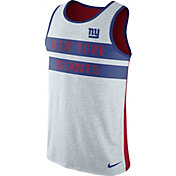 Nike Men's New York Giants Stripe Tri-Blend Red Tank
