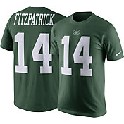 Nike Men's New York Jets Ryan Fitzpatrick #14 Pride Green T-Shirt