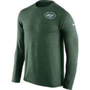 Nike Men's New York Jets Sideline 2016 Dri-FIT Touch Green Long Sleeve Shirt