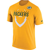 Nike Men's Green Bay Packers Legend Icon Gold T-Shirt