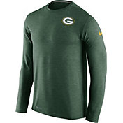 Nike Men's Green Bay Packers Sideline 2016 Dri-FIT Touch Green Long Sleeve Shirt