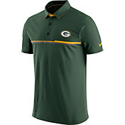 Nike Men's Green Bay Packers Sideline 2016 Elite Green Polo