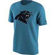 Nike Men's Carolina Panthers Team Travel Blue T-Shirt