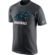 Nike Men's Carolina Panthers Facility Anthracite T-Shirt