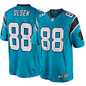 Nike Men's Home Limited Jersey Carolina Panthers Greg Olsen #88