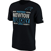Nike Men's Carolina Panthers Election Black T-Shirt
