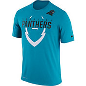 Nike Men's Carolina Panthers Legend Icon Blue T-Shirt