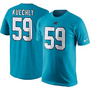 Nike Men's Carolina Panthers Luke Kuechly #59 Pride Blue T-Shirt