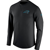 Nike Men's Carolina Panthers Sideline 2016 Modern Crew Black Sweatshirt