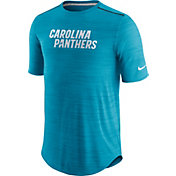 Nike Men's Carolina Panthers Player Blue Performance T-Shirt