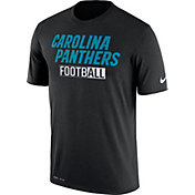 Nike Men's Carolina Panthers All Football Legend Black T-Shirt